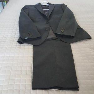 Ralph Lauren Charcoal Grey Gray Boys Suit Size 16